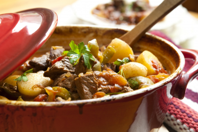traditional goulash or beef stew